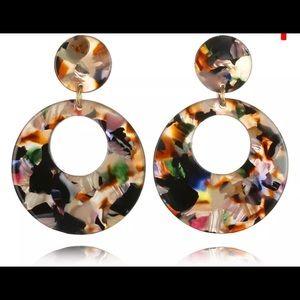 Just in! Multi acrylic earrings